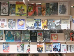 Graphic novels - Barmera