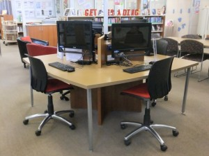 Teen area computers