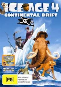 Ice Age 4 DVD