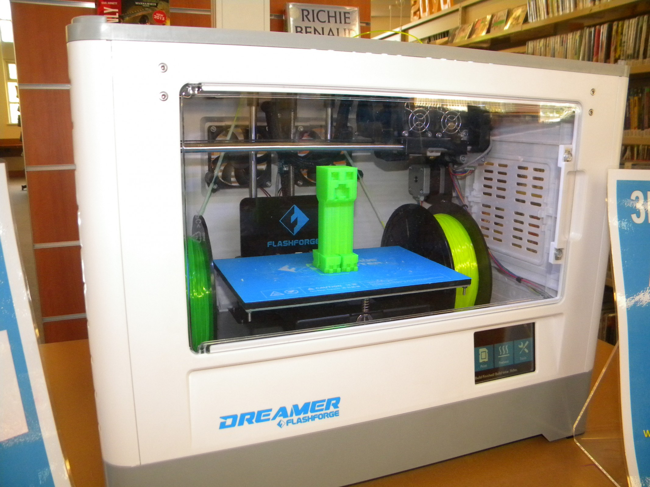 Learn To 3d Print The Berri Library