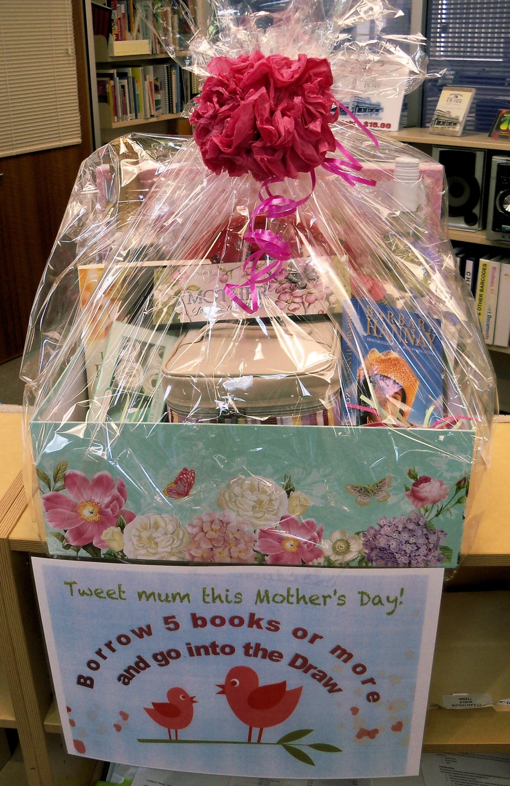 Berri Library FREE Mother's Day Raffle!