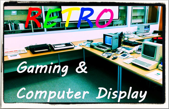 Post image for Retro Gaming and Computers Exhibition, May 2018